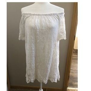 Forever21 white lace dress